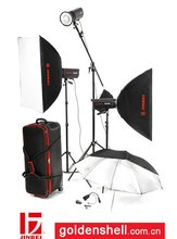 ECD series flash light kit 6 for professional photo use