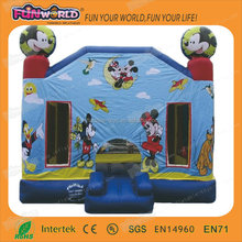 2014commercial grade cheap mickey mouse inflatable bouncer