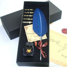 Gift items for office, quill feather pen, office gift pen