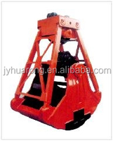 High capacity wood or stone grapple for Hitachi ZX250 Excavator
