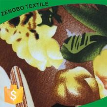 Printed single jersey fabric/cotton jersey fabric