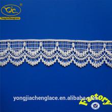 Nuevo diseño trim bordado de la cinta del grano/prendas de encaje