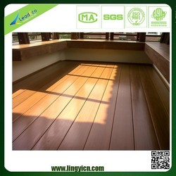 UV resistance floor boards outdoor portable wpc composite deck sealer