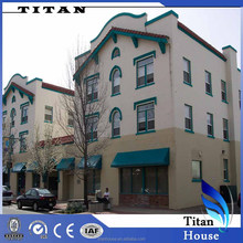 Wide Span Steel Structure Prefab Hotel Buildings by Wholesale Building Supplies