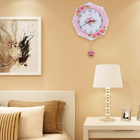 personalized custom logo pizza plain oversized vintage oriental wall clock outdoor pole floor waterproof street clock electric