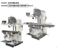 metal processing milling machine with motorized lift mechanism