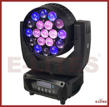 professional sharp eye led moving head light,19*12w 4in1 rgbw wash stage&event equipment moving head light