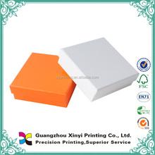 Simple design customized small plain necktie paper box