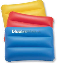 Inflatable seat cushion/inflatable beach pillow