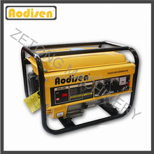 2800W hand start petrol engine home use magnet generator