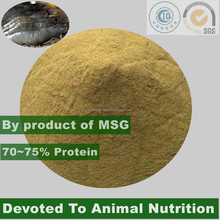 MSG by-product for auqa food