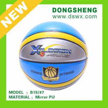 Glossy PU leather Basketball B19