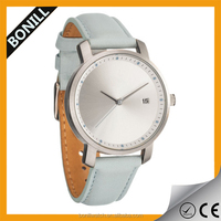 Fantasy light blue color brand name ladies wrist watches for 2016