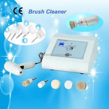 5 different brush heads Electric clean skin Bush ,Electric Home spa Facial brush AU-713