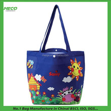 BSCI Factory Custom Nylon Sublimation Tote Bag