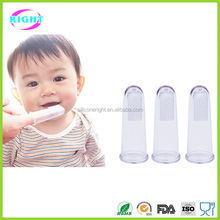Deep cleaning Silicone Baby finger toothbrush