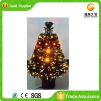 Colorful Cheap Artificial Decorative Small Fiber Optic Christmas Tree