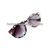 Free Shipping Wholesale Printed Fashionable Sunglasses