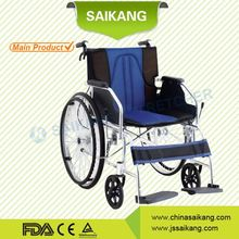 SKE137-2 medical equipment homecare wheelchair for handicaped