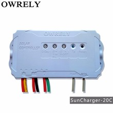 energy product of solar controller ,owrely SC-30C ,12/24V, PWM charge controller