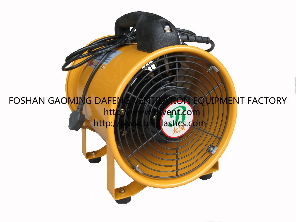 Air Duct Blower Fan : Industrial confined space ventilation air duct with