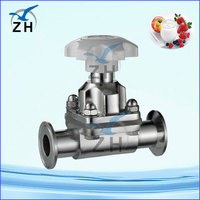 stainless steel diaphragm membrane valve