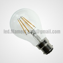 Decorative B22 lamp cap A60 4W Led Filament Bulb
