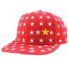 Five star embroidery design high quality custom hip hop cap snapback cap