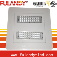 94W-304W gas station led canopy lights CREE chips driver WAGO connector