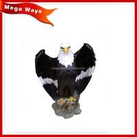 Polyresin animals figurine indoor use Resin eagle statues