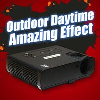 Best Gift!2015 newest DLP projector LED HD out door 3800 lumen home theater &business &engineering projector