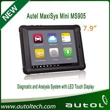 Hot sell 2015 Autel MaxiSys Mini MS905 Automotive Diagnostic and Analysis System maxisys ms905 With High Quality