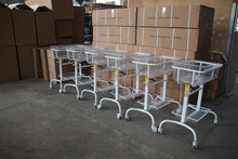 Export stainless steel baby cot hospital family use