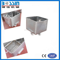 304 Stainless steel meat mobile cart