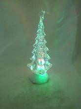 New product colorful light LED acrylic desk christmas tree