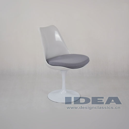 Replica eero saarinen tulip chair grey cushion buy replica eero saarinen tulip chair eero - Replica tulip chair ...