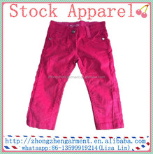 Baby / Children / Kids Cotton Outer Wear / Pant, Children's Clothing / Garment stock