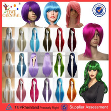 2015 fashion halloween party synthetic wigs cosplay hair wigs PGW-3126
