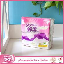 Soyou OEM Economical Tissue Paper Napkins / Pocket Tissue / Facial Napkin For Restaurants, Cafes, Hotels