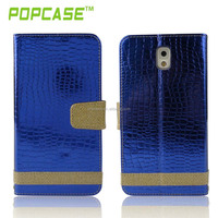 China factory wholesale wallet leather case for samsung galaxy note 3