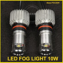 1200 lumen 10*2 =20W Car Truck White Headlight Fog Bulb fog light for mini cooper