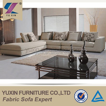 high quality feather filling modern sofa