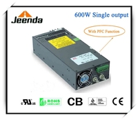 600W parallel (N+1) Switching power supply with PFC function,UL TUV,CB,CE certified with PFC function power supply