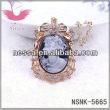 fashion shamballa crystal ball pendant necklace