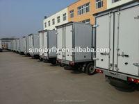 galvanised panel van box fiberglass truck body kits/aluminum truck body