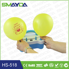 2015 party supply balloon pump machine with CE,ROHS,C-TICK