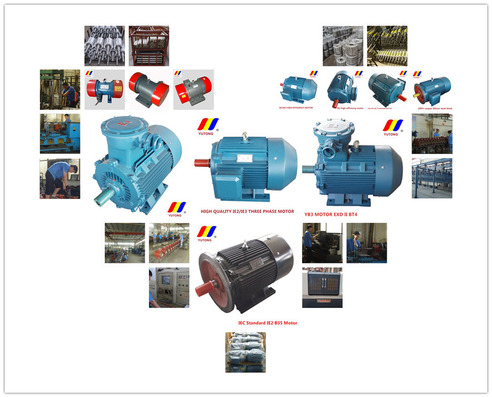 YE2 series three-phase induction high efficient electrical motor