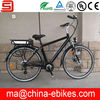 700C lithium battery Europe electric bicycle price for man(JSE36-11)