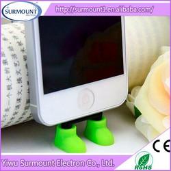 eco-friendly shoes shape mobile phone holder desktop cute cellphone holder