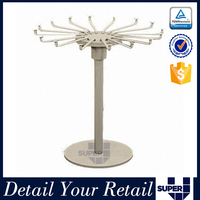Customized electronic iron bead display rack for decoration shop